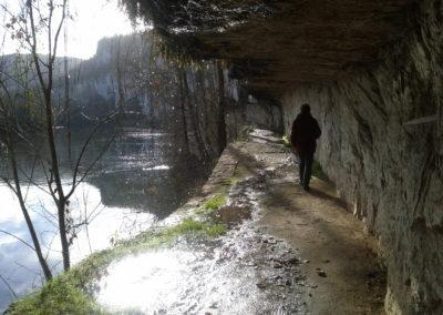 Chemin de Halage à Saint Cirq Lapopie